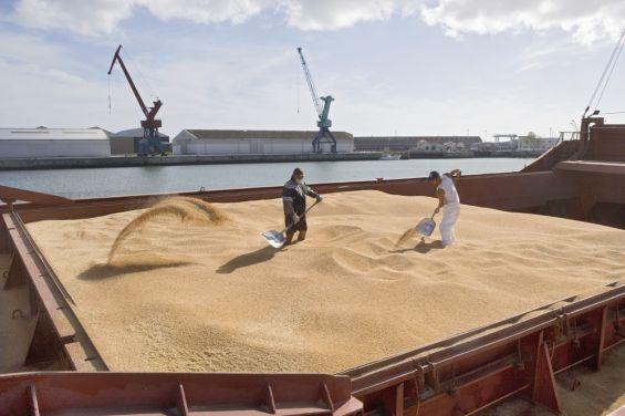 Une cargaison de sable