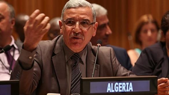 L'ambassadeur adjoint de l'Algérie auprès de l'ONU, Mohammed Bessedik.