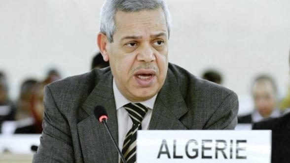 Boudjemâa Delmi, ambassadeur d'Alger auprès de l'Office des Nations unies à Genève (ONUG).