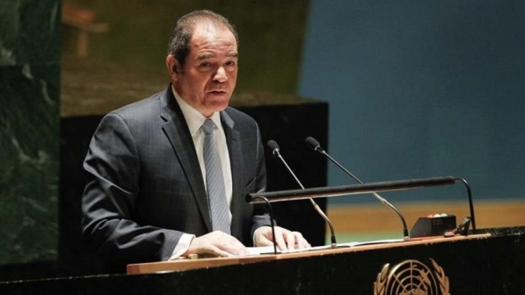 Sabri Boukadoum, ministre algérien des Affaires étrangères.