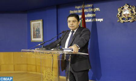 السيد بوريطة:  الترويكا حول الصحراء هي آلية لمواكبة ودعم الجهود الحصرية للأمم المتحدة
