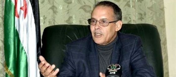 M'hamed Khaddad, le coordinateur du Front Polisario avec la Minurso.