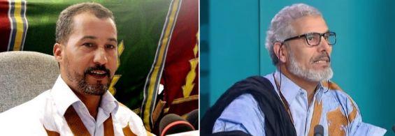 Mustapha Salma Ould Sidi Mouloud et Mahjoud Salek du mouvement Khat Achahid. / Photomontage   ...Suite : https://www.yabiladi.com/articles/details/53338/mustapha-salma-khat-achahid-denonce.html