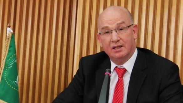 Ismaïl Chergui, commissaire à la Paix et à la sécurité de l'UA.