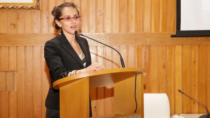 Clara Riveros, une spécialiste colombienne du conflit du Sahara.