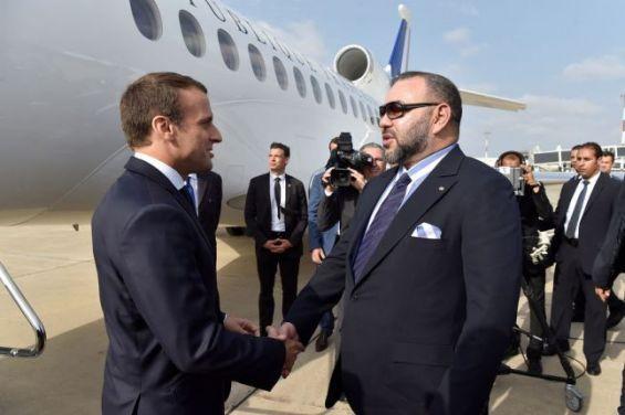 Le roi Mohammed VI et le président français Emmanuel Macron, en juin 2017 à Casablanca.