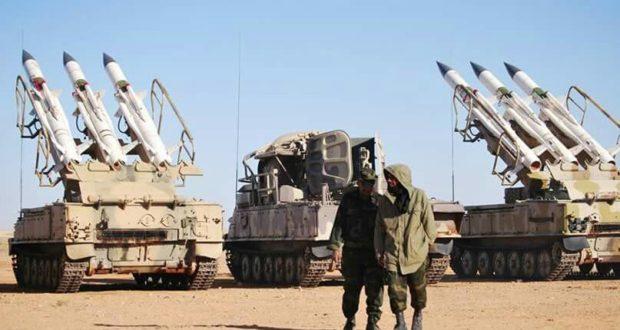 militia polisario sam missile