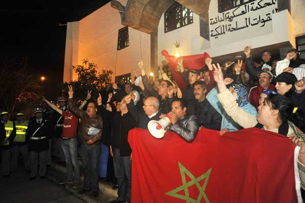 Après plus de deux semaines de procès, le verdict dans le procès de l'affaire Gdim Izik a été rendu dans la nuit de samedi à dimanche par les juges du Tribunal militaire permanent de Rabat.