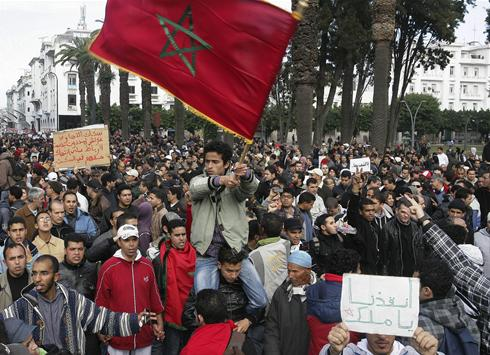 Protest, response show democracy in Morocco