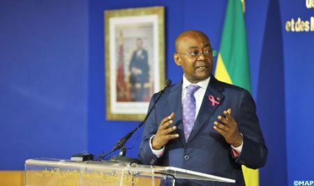 """Le ministre gabonais des AE réaffirme le soutien """"constant"""" de son pays à la marocanité du Sahara"""