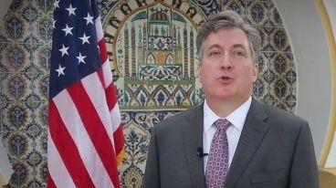 L'ambassadeur des États-Unis en Algérie, John Desrocher.