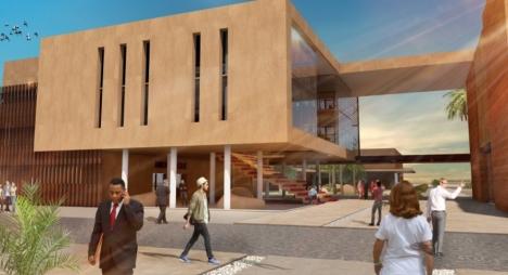 الإعلان عن طلب عروض لبناء كلية الطب والمستشفى الجامعي بالعيون