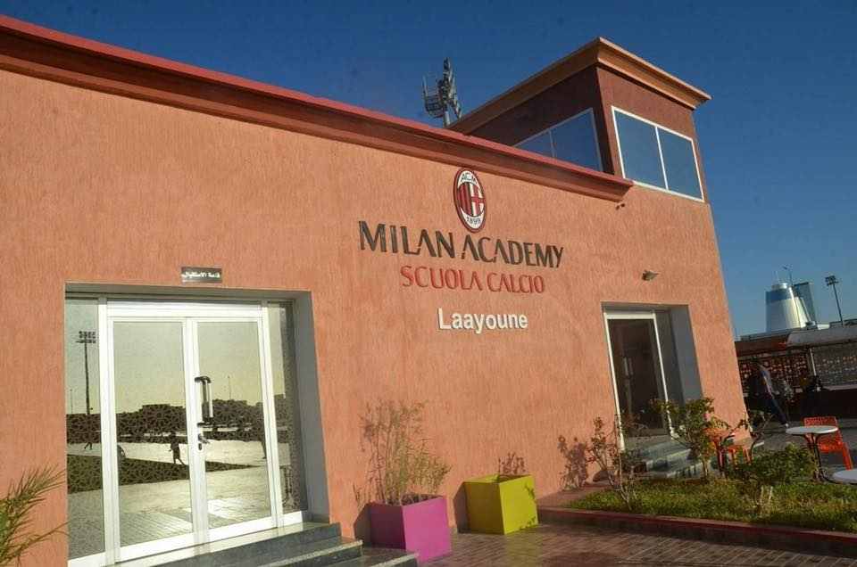 laayoune ac milan western sahara school