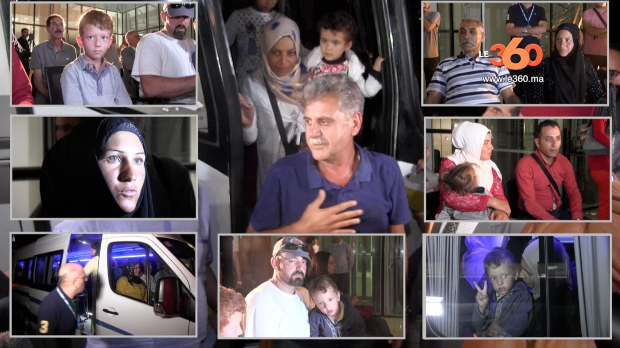 Le Roi du Maroc met fin à la souffrance des familles syriennes bloquées en Algérie, près de la ville marocaine de Figuig