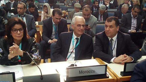 NAÏROBI: FERME RIPOSTE MAROCAINE, SUITE À LA PRÉSENTATION D'UNE CARTE DU ROYAUME TRONQUÉE DE SON SAHARA