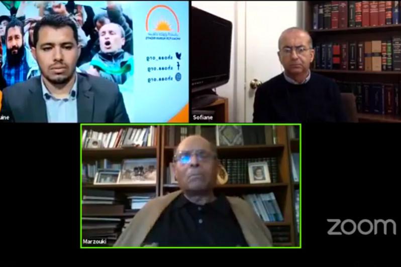"""Moncef Marzouki: le régime algérien prend en otage les séquestrés de Tindouf pour un """"choix politiq"""