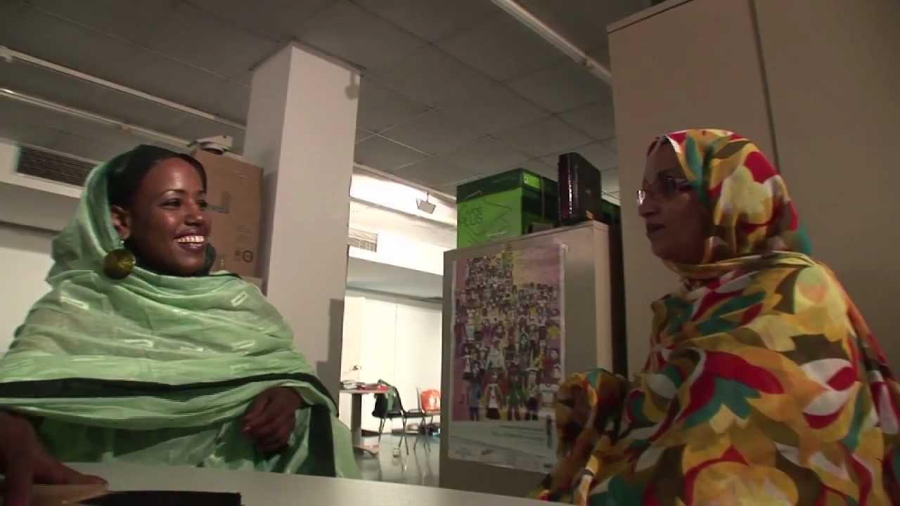Aziza Brahim et Aminatou Haidar