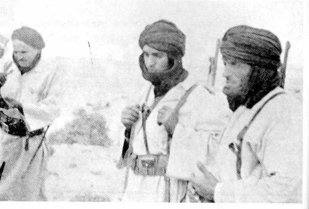 MLA troops near Sidi Ifni, 1957.