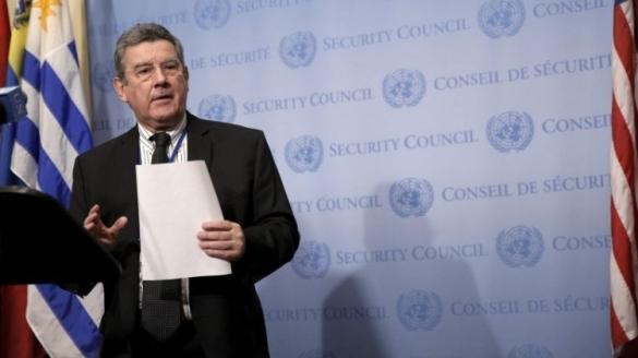 Elbio Rosselli, ambassadeur de l'Uruguay à l'ONU.