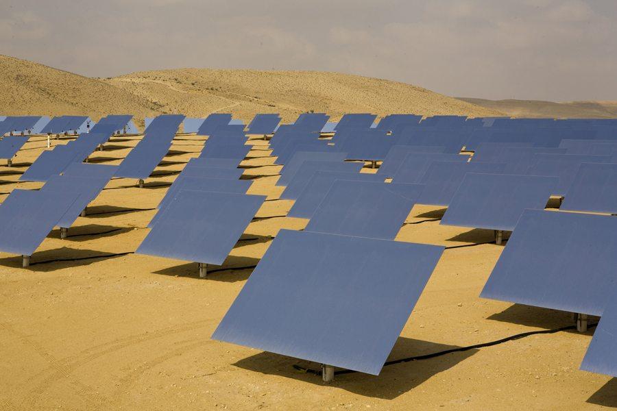 Photovoltaïque au sahara