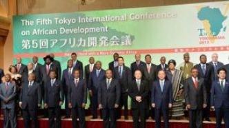 Photo de la 5ème édition de la Conférence internationale de Tokyo pour le développement en Afrique (TICAD).