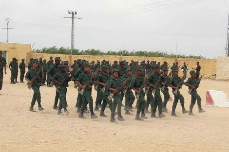 Formation immonde d'enfants sahraouis à des fins terroristes