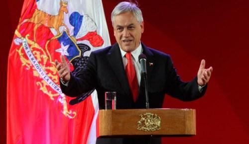 Le nouveau président élu de la République du Chili, Sebastián Piñera