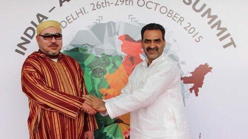 Le roi du Maroc au Sommet Inde-Afrique malgré les pressions de l'Union africaine sur New Delhi