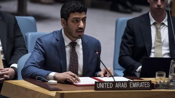Ahmad Al-Mahmoud, représentant émirati à l'Assemblée générale de l'ONU.