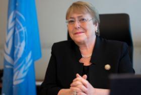 Une lettre signée par 925 ONG adressée à Michel Bachelet