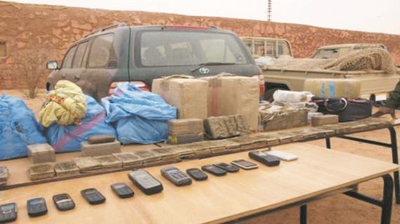 Guelmim: 7 individus arrêtés, dont des membres du polisario, pour trafic de drogue