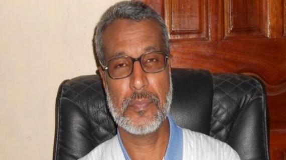 Saleh Hanana, secrétaire général du Parti pour l'Unité et le changement en Mauritanie. /lecalame.infoSaleh Hanana, secrétaire général du Parti pour l'Unité et le changement en Mauritanie. /lecalame.info