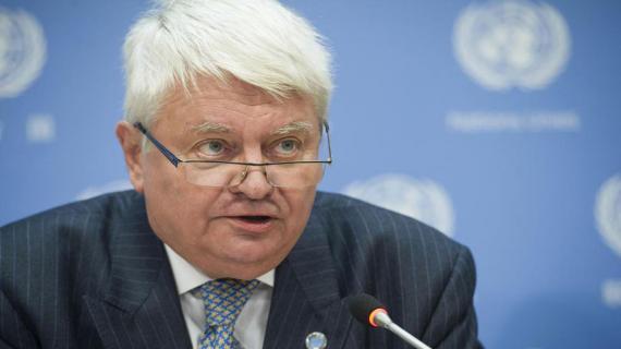Hervé Ladsous est secrétaire général adjoint aux opérations de maintien de la paix de l'ONU depuis 2011.