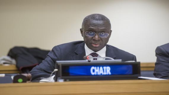 Fodé SECK Ambassadeur Représentant permanent du Sénégal auprès des Nations Unies
