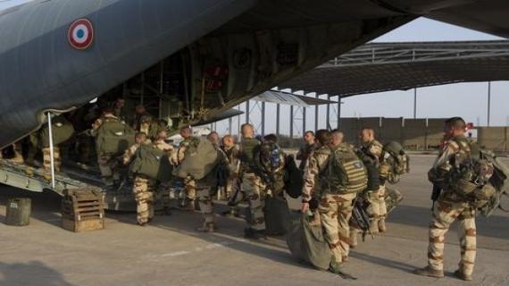 Troops française vers Mali