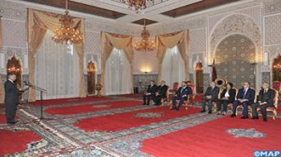 Presentation of the roadmap of developpement to the king Mohammed VI