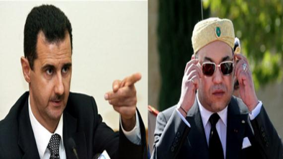 Maroc : Mohammed VI bombarde Bachar el-Assad