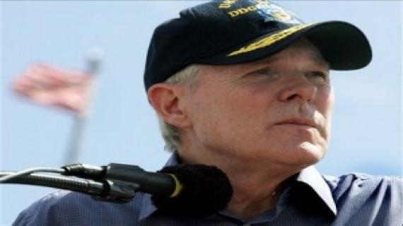 U.S. Navy Secretary Ray Mabus. /AP