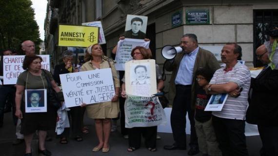 Le Collectif des familles de disparus en Algérie « CFDA »