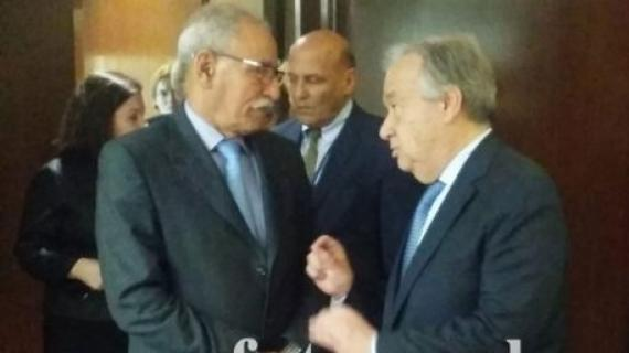 Ghali refused the request of the UNSG Antonio Guteress