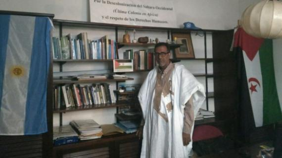 Le dénommé Mohamed Salem Birouk, représentant du Polisario en Argentine.