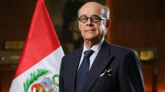 Ricardo Luna, ministre péruvien des Affaires étrangères.